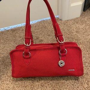 THE SAK Beautiful red shoulder bag EUC